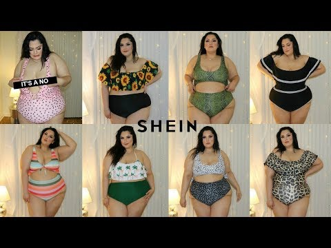 Shein PLUS SIZE Swimsuit Haul | DOES IT FIT?!? | Posi Claudia