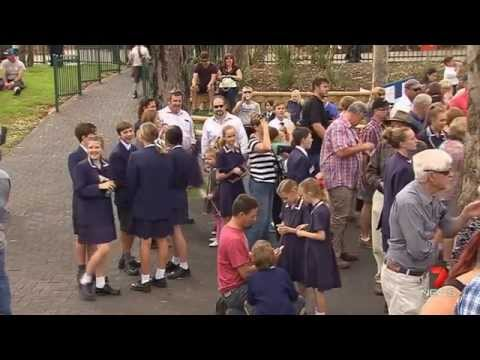 Trinity College 7 News Adelaide 06/04/2015