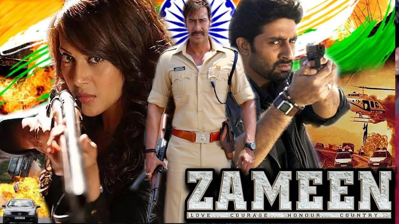 जमीन (Zameen) Full Action Patriotic Hindi Movie  Ajay Devgn   Abhishek Bachchan   Bipasha Basu  