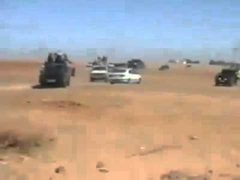 Protestation against Polisario Human Rights abuses in Tindouf camps