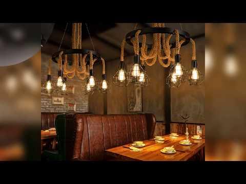 Creative Natural Lights Bamboo Woven Pendant Lamp ...