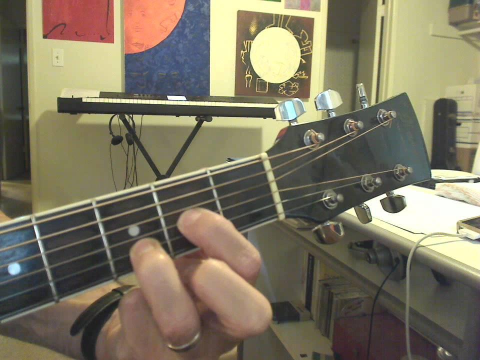 Guitar 1 Lesson 7: D2 chord tutorial - YouTube