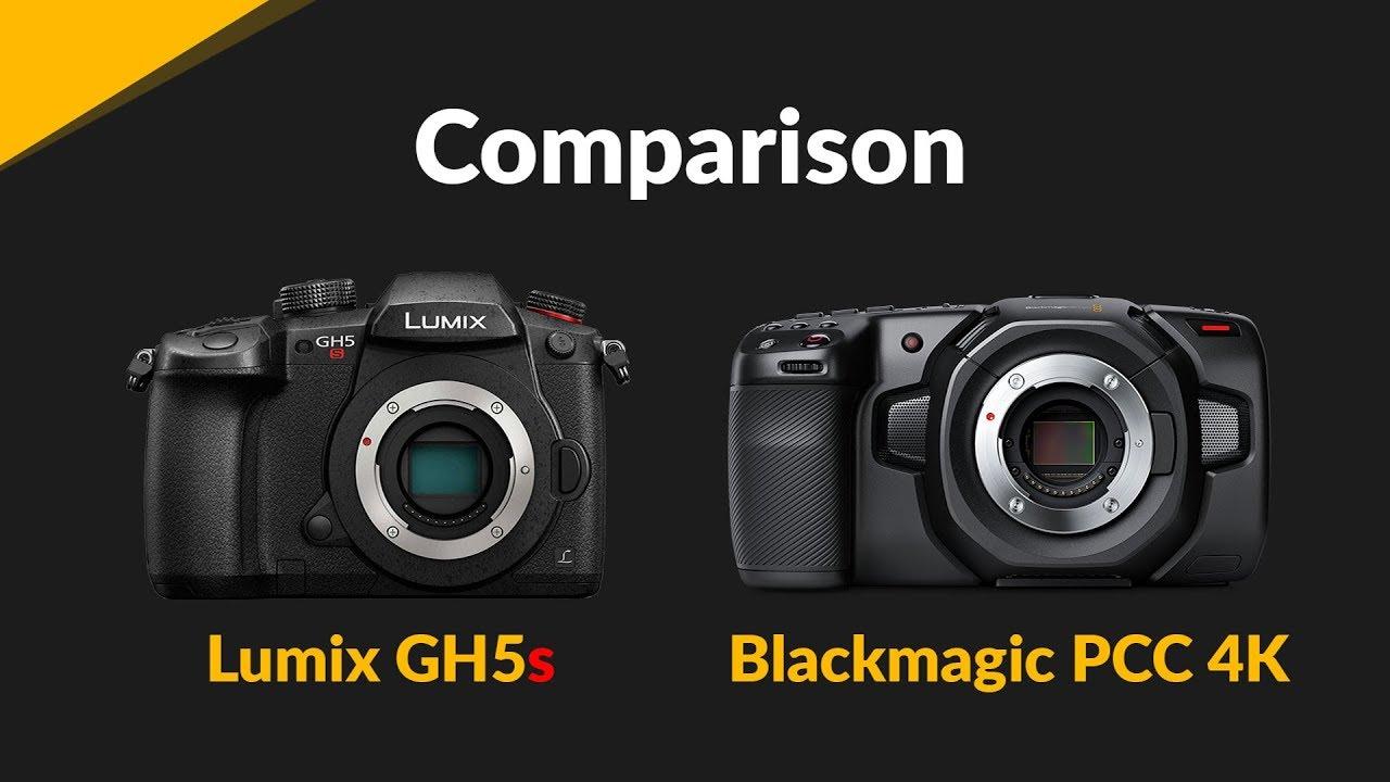 Blackmagic Pocket Cinema Camera 4k Vs Panasonic Lumix Gh5s 2018 Youtube
