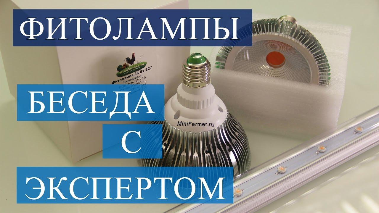 Зона засветки led фитоламп Е27 (выбор лампы) - YouTube