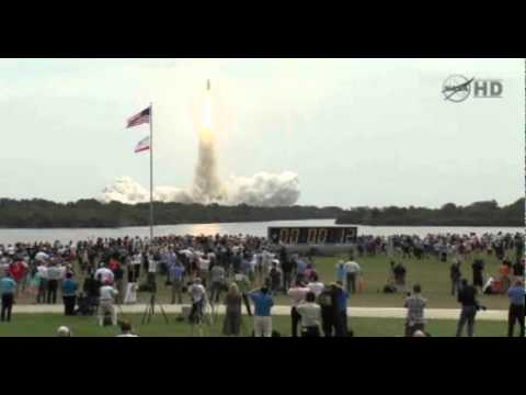 sts-135 atlantis last liftoff incl :31 hold + launch replays recorded live