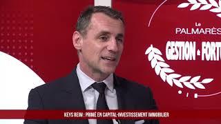 Palmarès des Fournisseurs 2021 - Keys REIM