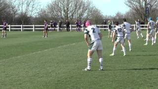 Leeds Met vs.University of Exeter - BUCs Rugby Union Mens Semi Final