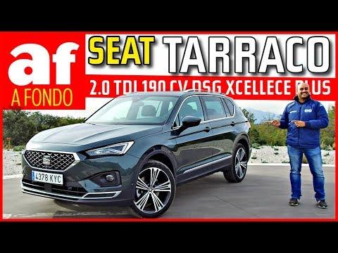 Seat Tarraco 2.0 TDI 190 CV DSG Xcellence Plus | Review y prueba
