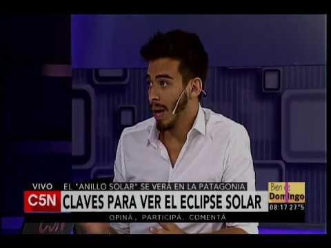 C5N - Bien De Domingo: Eclipse solar.
