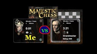Beating Hoyle Majestic Chess Grandmaster