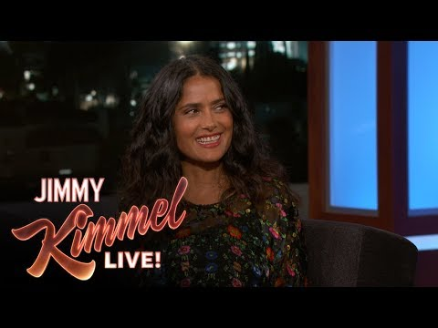 Salma Hayek Pinault Got Peed on by a Monkey