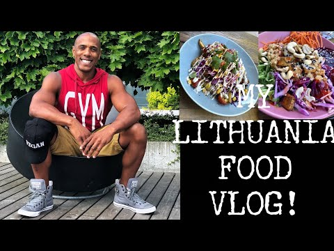 MY LITHUANIA VEGAN FOOD VLOG!