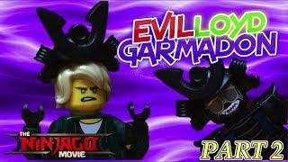 Lego Ninjago Movie RISE of EVIL LLOYD | LORD LLOYD GARMADON PART 2