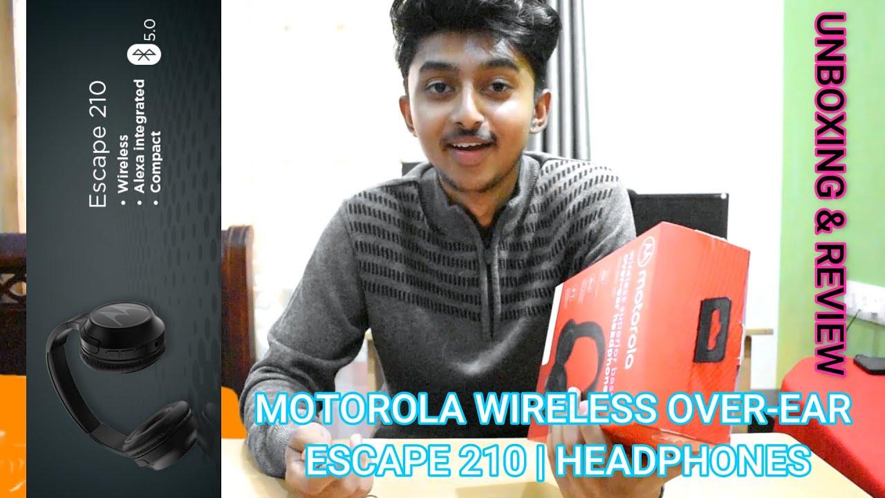 Motorola Escape 210 Wireless Headphones Unboxing And Review Sneak Peek S01e02 Youtube