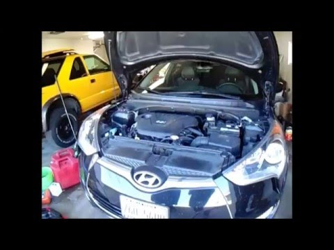 Ep. 1 How to change your oil, SIMPLE Hyundai Veloster
