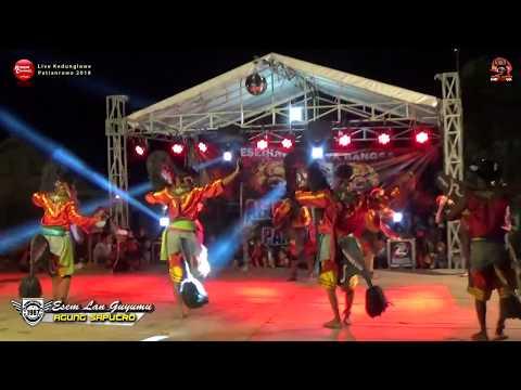 Lagu Jaranan Dangdut Campursari ESEM LAN GUYUMU - AGUNG SAPUTRO Live Kedunglawe 2018