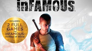 +1 jogos InFAMOUS Collection para PS3