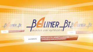 Műanyag és fa nyílászárók - Baliner Bt. videó