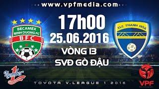 bbinh duong vs flc thanh hoa - toyota vleague 1 - 2016  full