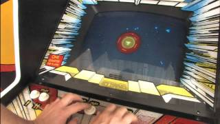 Classic Game Room - STAR CASTLE arcade machine review