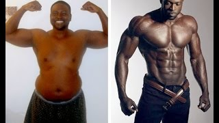 incredible chubby fat to fit muscular fitness model body transformation - robins dorvil