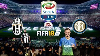 Juventus vs inter in fifa 18! higuin vs icardi!