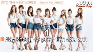 [Karaoke Việt] INTO THE NEW WORLD - SNSD