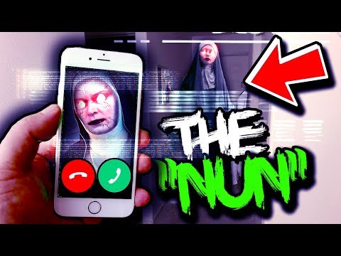 if The Nun calls you, its much too late.. (scary)