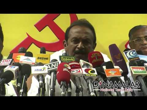 Vaiko Vs Karunanidhi | controversial speech  - Dinamalar Apr 6th 2016