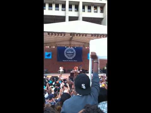 Wiz Khalifa Free Concert Live at Government Center Boston- (Finale: This Plane)