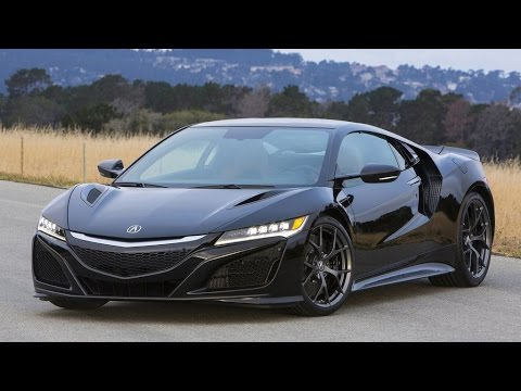 2016 Acura NSX Review Rendered Price Specs Release Date - YouTube