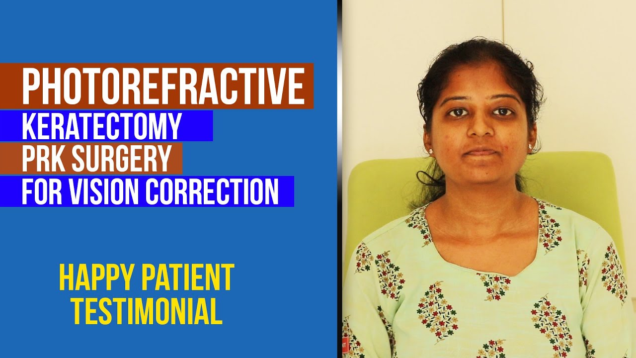 Download Photorefractive keratectomy (PRK) surgery for vision correction | Refractive Patient Testimonial