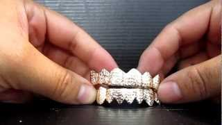 Princess Cuts Gold Grillz