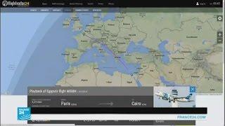 طائرة مصر للطيران فقدت بعد دخولها الأجواء المصرية