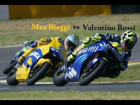 Best Overtake Valentino Rossi Vs Max Biaggi Motogp 2004 Youtube
