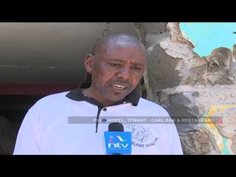 Nairobi CBD building demolished in alleged land grab