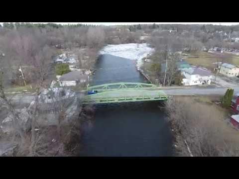 Chazy River at Champlain  2-24-18