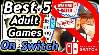 Best 5 Adult Games On Nintendo Switch