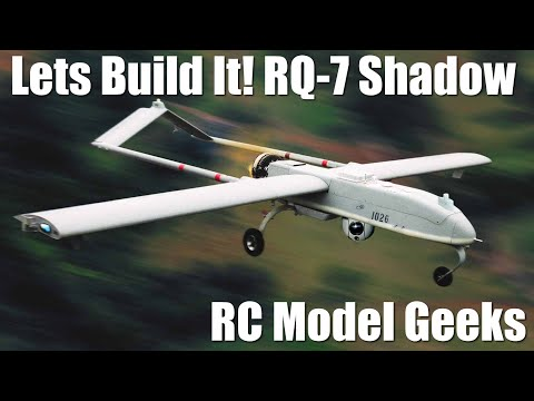 Hobbyking RQ-7 Shadow Build Pt1