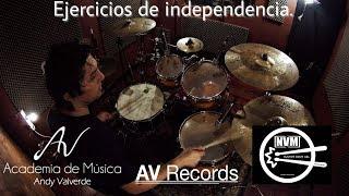 Baixar Ejercicios de independencia - Clases de batería  (Andy Valverde)