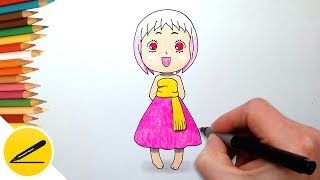 How to Draw Manga Girl Guu from Jungle wa Itsumo Hare nochi Guu 笨ソ Learn to Draw