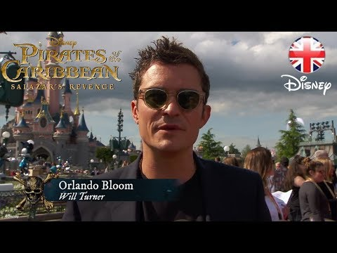 Pirates of the Caribbean: Salazar's Revenge - European Premiere - Official Disney | HD