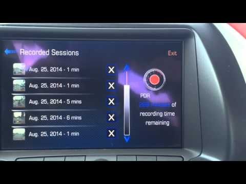 How to use the 2015 Stingray PDR Performance data recorder Bachman Chevrolet
