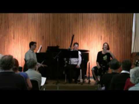 Vientos Trio - oboe, clarinet, bassoon