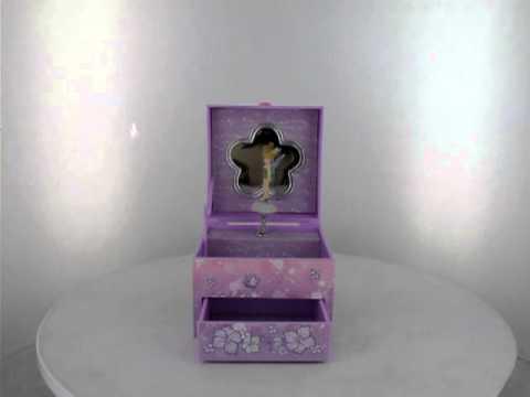 Disney Fairies Tinkerbell Musical Jewellery Box YouTube
