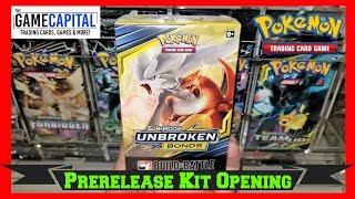 UNBROKEN BONDS Prerelease Build & Battle Kit Opening of Pokemon Cards