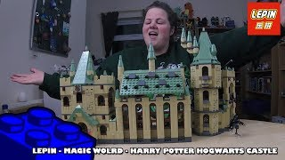 Bootlego: Lepin 16030 - Harry Potter Hogwarts Castle (Magic Wolrd) Timelapse | Adults Like Toys Too