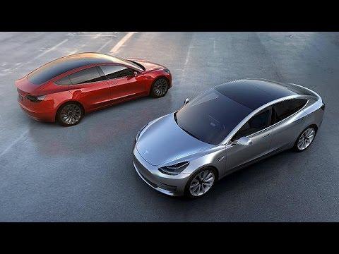 Tesla'nın Elektrikli Otomobili Model 3'e 276 Bin ön Sipariş