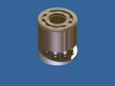 Axial Piston Pump Animation