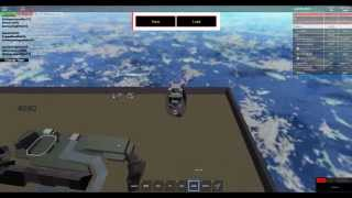 Slow motion Halo drop pod sniping in Roblox